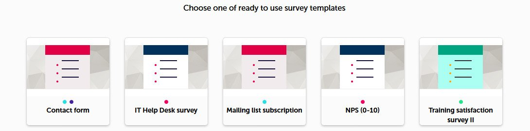survey templates